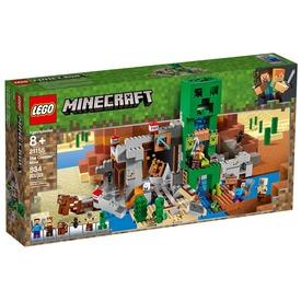 LEGO® Minecraft Creeper barlang 21155