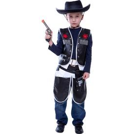 Cowboy jelmez - fekete, 128-as méret Itt egy ajánlat található, a bővebben gombra kattintva, további információkat talál a termékről.