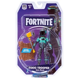 Fortnite - Toxic Trooper figura, 10 cm