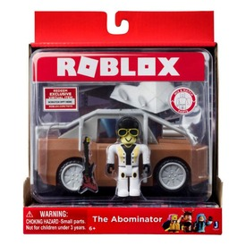 Roblox Abominator jármű figurával