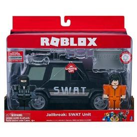 Roblox Jailbreak Swat jármű figurával