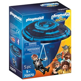 Playmobil Rex Dasher ejtőernyővel 70070