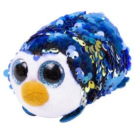 Teeny Ty PAYTON flitteres kék pingvin plüss