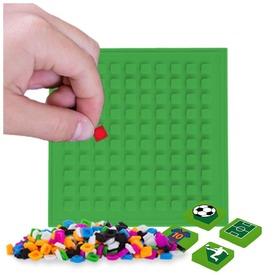 Pixie öntapadós mozaiklap, zöld, 69 pixellel