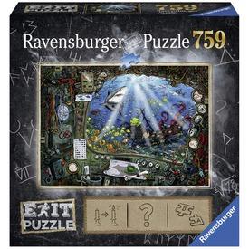 Tengeralattjáró 759 darabos Exit puzzle
