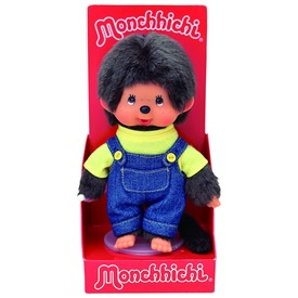 Monchhichi fiú figura nadrágban - 20 cm