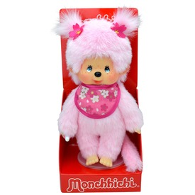 Monchhichi Cseresznyevirág lány 20cm