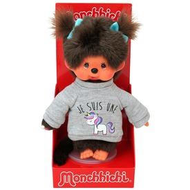 Monchhichi lány figura pulóverben - 20 cm