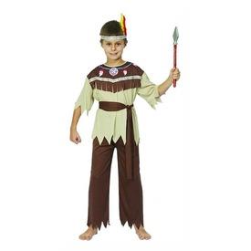 Indián fiú jelmez - barna, 120-130-as méret Itt egy ajánlat található, a bővebben gombra kattintva, további információkat talál a termékről.