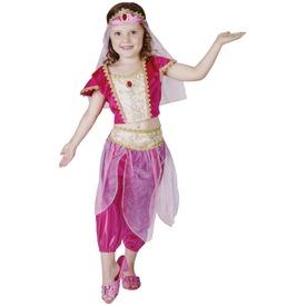 Hárem táncosnő jelmez - 92-104 cm