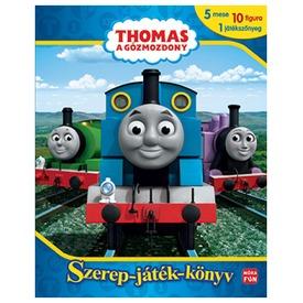 Thomas, a gőzmozdony - Szerep-játék-könyv figurállak, játékszőnyeggel