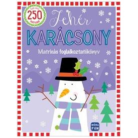 Fehér karácsony - Matricás foglalkoztatókönyv sablonokkal