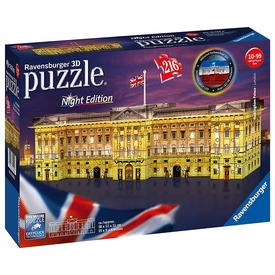 Buckingham palota fénnyel 216 darabos 3D puzzle
