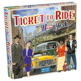 Ticket to Ride New York társasjáték