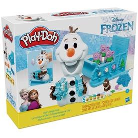 Jégvarázs II Play-Doh Olaf szánon gyurmakészlet