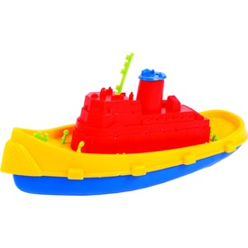 Műanyag hajó - 26 cm, többféle
