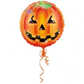 Halloween tök lufi - 46 cm
