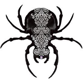 Halloween pók lufi - 119 cm