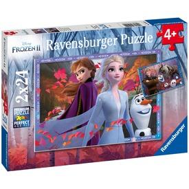 Jégvarázs 2 Az erdőben 2 x 24 darabos puzzle