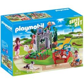 Playmobil Superset Családi kert 70010