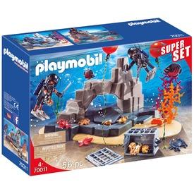Playmobil Speciális Egység búvár bevetésen