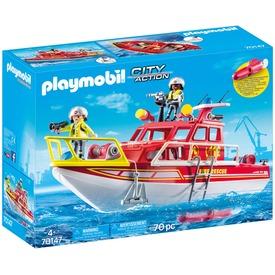 Playmobil Tűzoltóhajó 70147