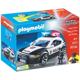 Playmobil Rendőrségi autó
