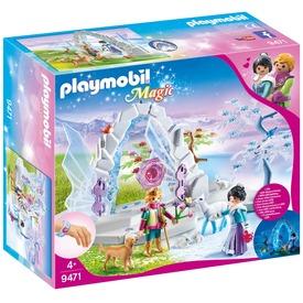 Playmobil Kristálykapu a téli világba