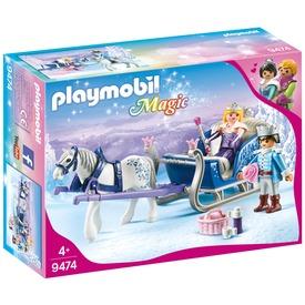 Playmobil A királyi pár téli hintója