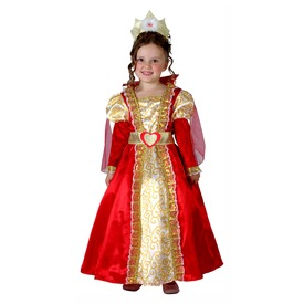 Királynő jelmez - 92-104-es méret