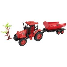 Lendkerekes traktor utánfutóval, 4 féle, 2 szín
