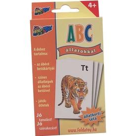 ABC állatos kártyajáték