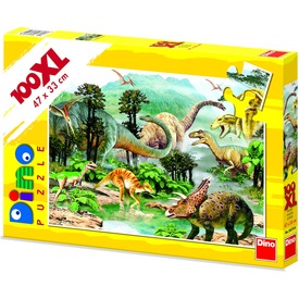 Dinoszauruszok 100 darabos XL puzzle Itt egy ajánlat található, a bővebben gombra kattintva, további információkat talál a termékről.