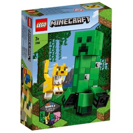 LEGO® Minecraft™ BigFig Creeper™ és Ocelot 21156