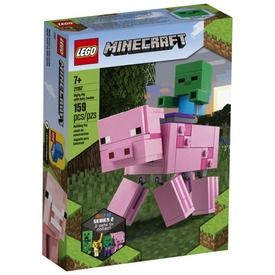 LEGO® Minecraft BigFig malac Zombibabával 21157