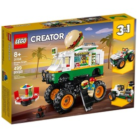 LEGO Creator 31104 Óriás hamburgeres teherautó