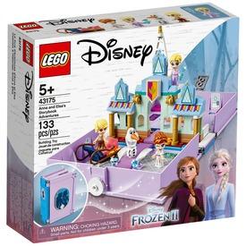 LEGO® Disney Princess Anna és Elza mesekönyve 43175