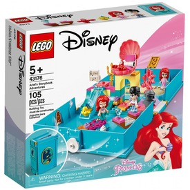 LEGO® Disney Princess Ariel mesekönyve 43176