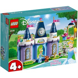 LEGO® Disney Princess Hamupipőke ünnepe a kastélyban 43178