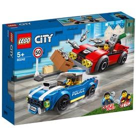 LEGO® City Police Rendőrségi letartóztatás az országúton 60242