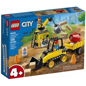 LEGO® City Great Vehicles Építőipari buldózer 60252