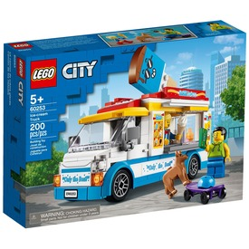 LEGO City Great Vehicles 60253 Fagylaltos kocsi