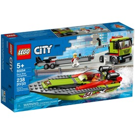 LEGO® City Great Vehicles Versenycsónak szállító 60254