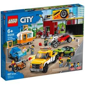 LEGO® City Nitro Wheels Szerelőműhely 60258
