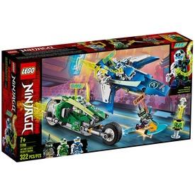 LEGO® Ninjago Jay és Lloyd versenyjárművei 71709