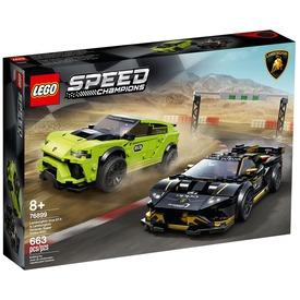 LEGO® Speed Champions Lamborghini Urus ST-X - Lamborghini Huracán Super Trofeo 76899