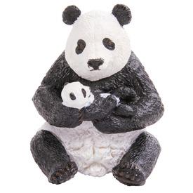Papo Ülő panda és bocsa 50196