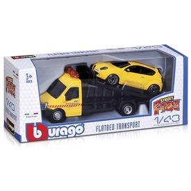 Bburago Street Fire - Tréler +1 db kisautó 1:43