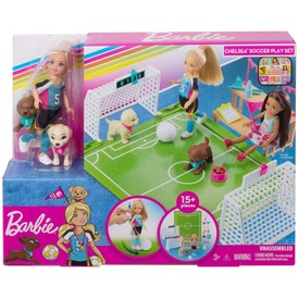 Barbie Dreamhouse Adventures - Chelsea fociszett