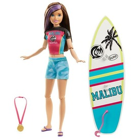 Barbie Sporttesók kiegészítőkkel - többféle